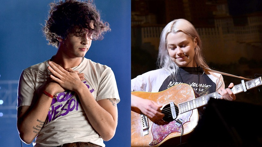 "The 1975 Team Up With Phoebe Bridgers on ""Jesus Christ 2005 God Bless America"""