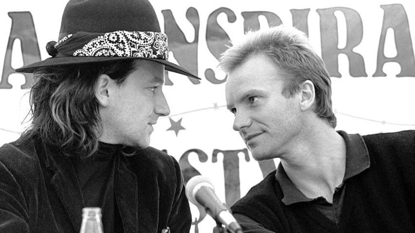 Live Music at Home: The Police with Bono, Traffic, Aurora