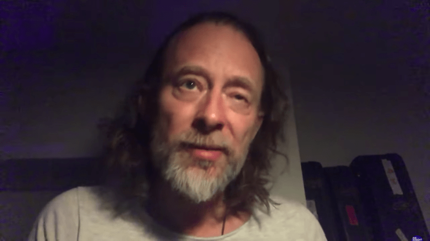 """Thom Yorke Debuts New Song """"Plasticine Figures"""" on Fallon: Watch"""