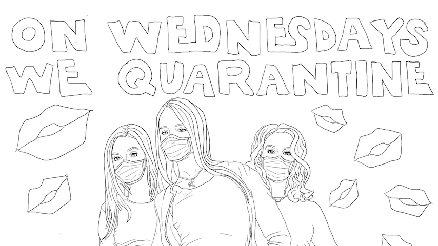 Coloring Quarantine: Download Coloring Pages Inspired By Game of Thrones, Mean Girls & More