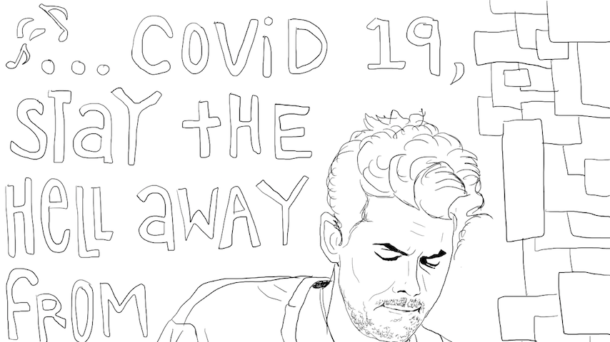 Coloring Quarantine: Download Coloring Pages Inspired By John Mayer, Dazed and Confused & More