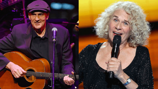 "Hear James Taylor Cover Carole King's ""You've Got a Friend"" on This Day in 1974"