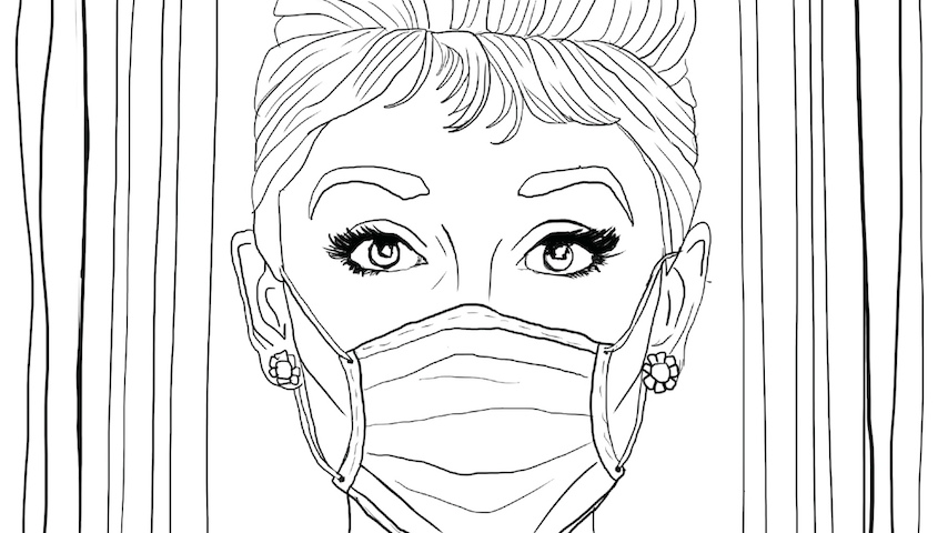 Coloring Quarantine: Download Coloring Pages Inspired By Breakfast at Tiffany's, Tiger King & More