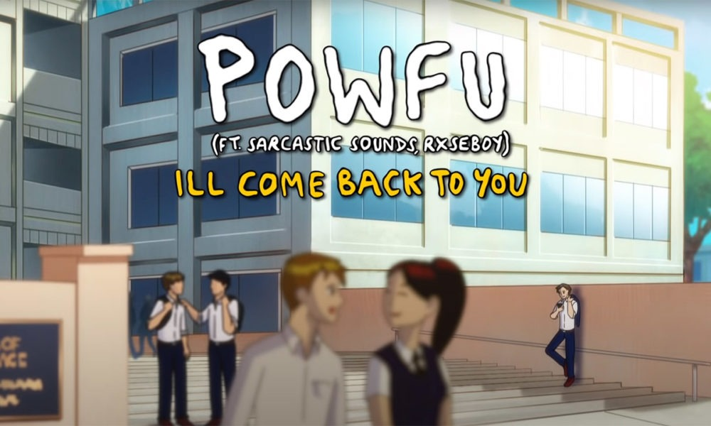 "Vancouver's Powfu enlists Rxseboy & Sarcastic Sounds for anime-inspired ""ill come back to you"" video"
