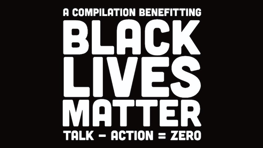 Over 90 Musicians Featured on New Compilation Album Talk – Action = Zero to Benefit Black Visions Collective