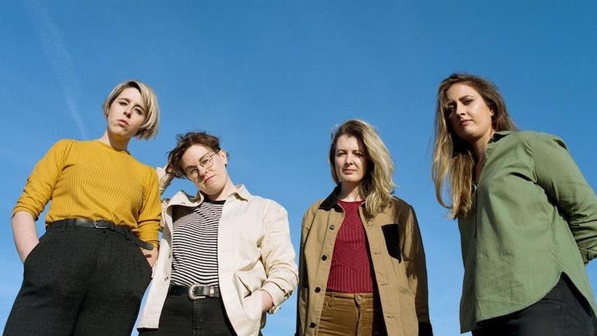 "Irish Rockers Pillow Queens Announce Debut Album, Release New Single ""Handsome Wife"""