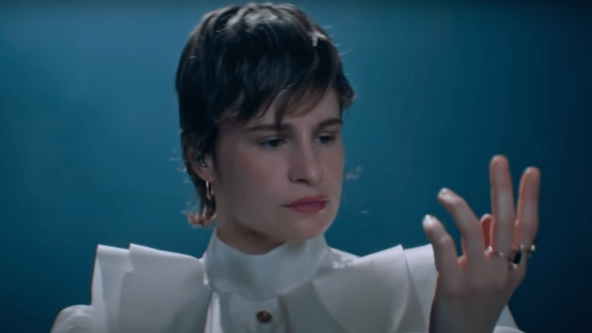 "Watch Christine and the Queens Perform ""I Disappear in Your Arms"" on Fallon"