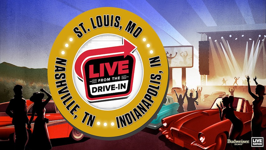 """Live Nation Announces Socially-Distanced """"Live From The Drive In"""" Concert Series"""