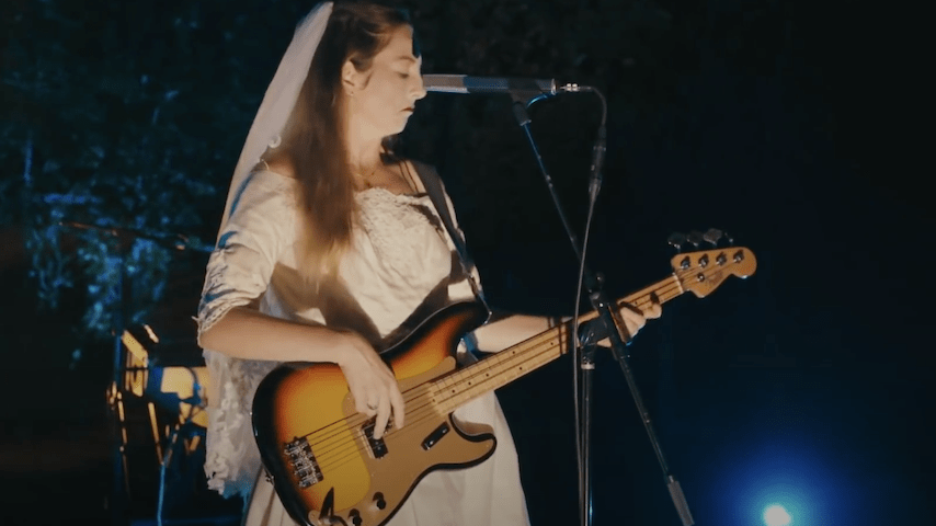 "Watch HAIM's Halloween-Themed Performance of ""3AM"" on Late Night With Seth Meyers"