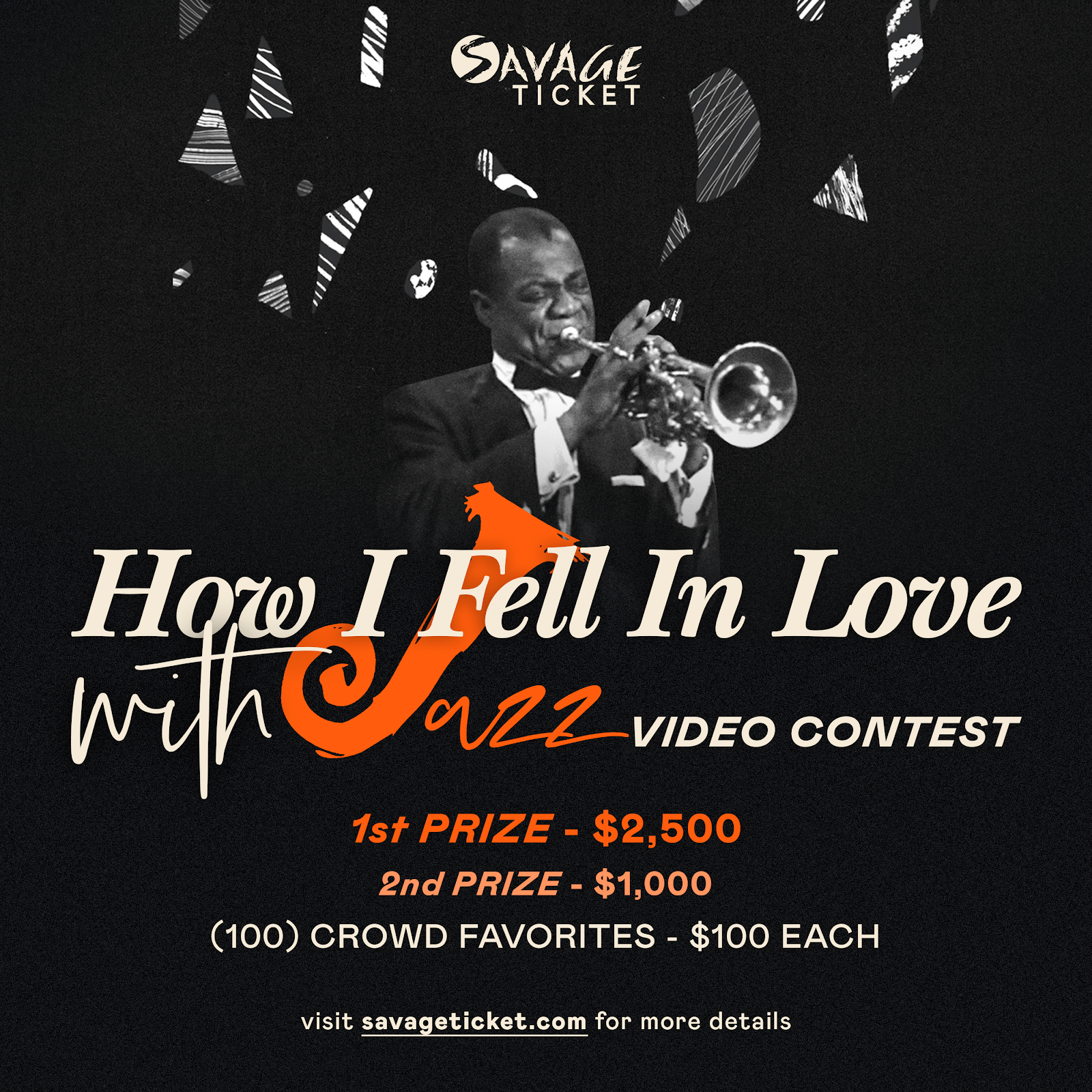 We Have 21 More Days To Celebrate Jazz: Savage Ticket Extends The How I Fell In Love With Jazz Contest To November 21st