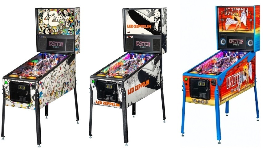 Led Zeppelin's Getting a Brand New Pinball Machine from Stern Pinball