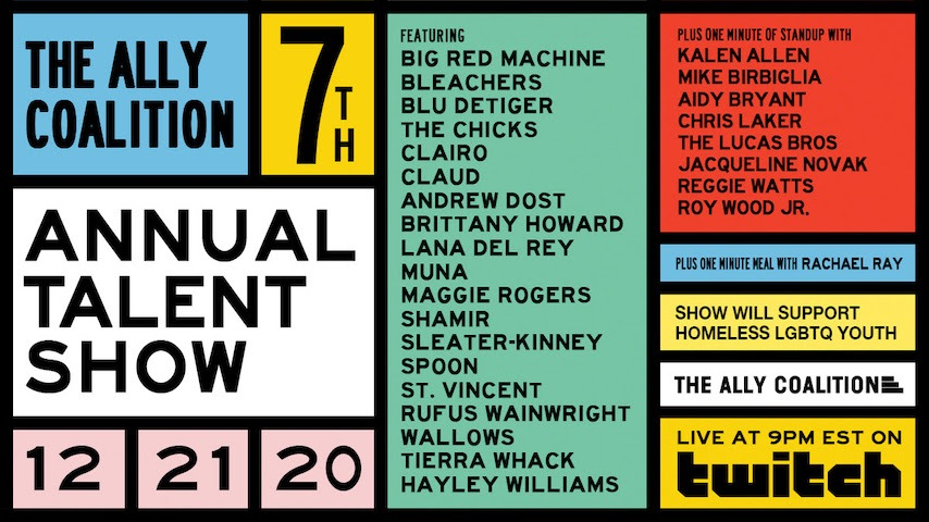 The Chicks, Brittany Howard, St. Vincent and More to Perform at 7th Annual Ally Coalition Talent Show