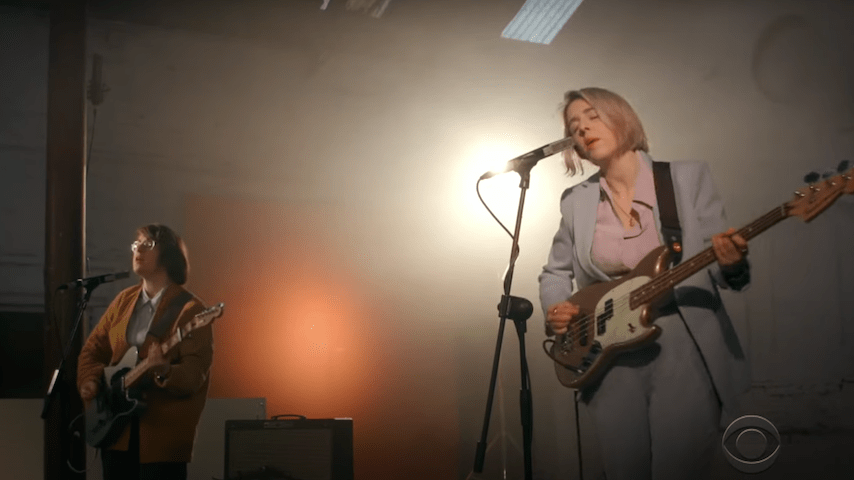 Irish Rockers Pillow Queens Make U.S. TV Debut on The Late Late Show