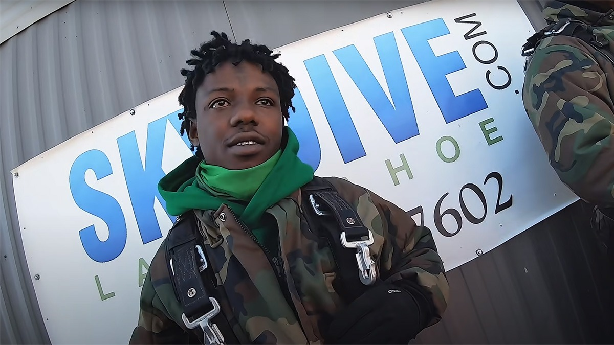 Protecting My Energy: Jackboy goes skydiving, snowboarding & more in latest video