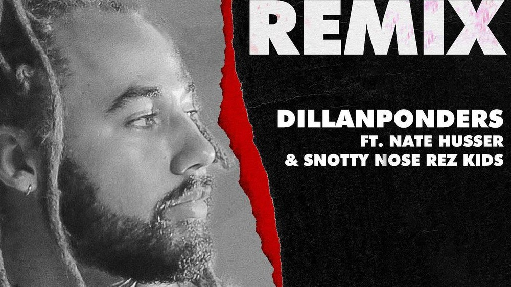 """DillanPonders enlists Nate Husser & Snotty Nose Rez Kids for """"King of the Town (Remix)"""""""