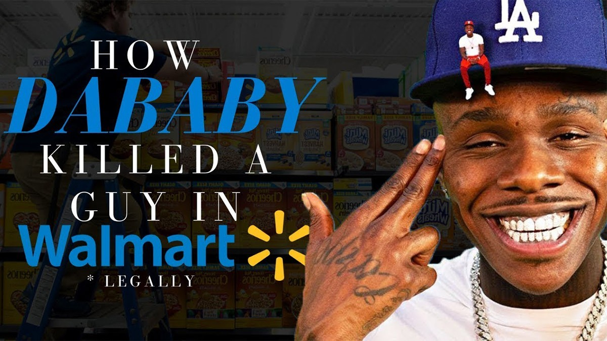 """Trap Lore Ross on """"How DaBaby Killed a Guy in Walmart (Legally)"""""""