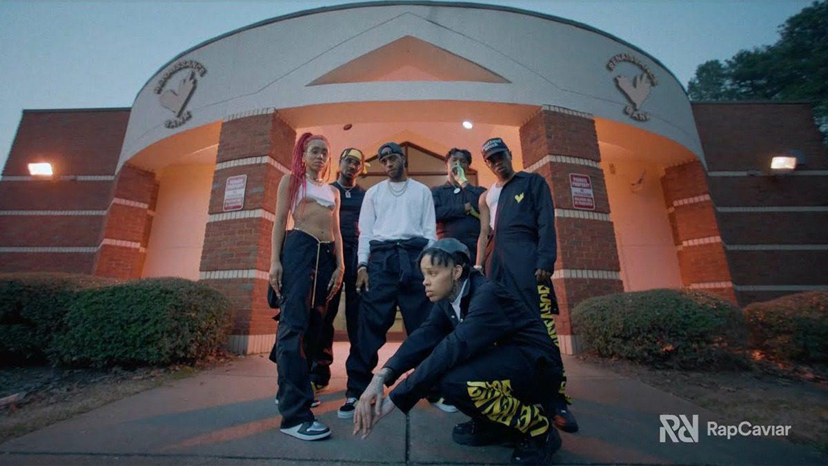 Watch the LVRN x RapCaviar Cypher featuring 6LACK, Westside Boogie, BRS Kash, NoonieVsEverybody & OMB Bloodbath