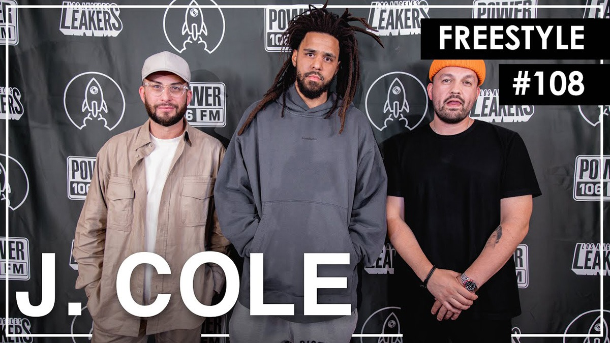J. Cole stops by L.A. Leakers for new freestyle