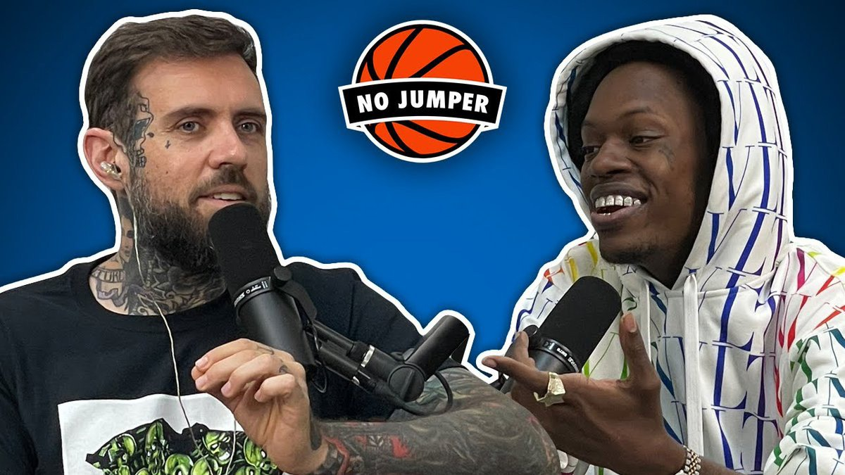 """No Jumper presents The Foolio Interview: Getting shot at 15, """"Who I Smoke"""" controversy, Adin Ross drama & more"""