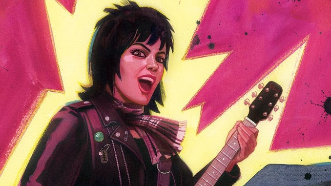 Joan Jett and Z2 Comics Create Graphic Anthology for Bad Reputation & I Love Rock 'N' Roll Anniversary