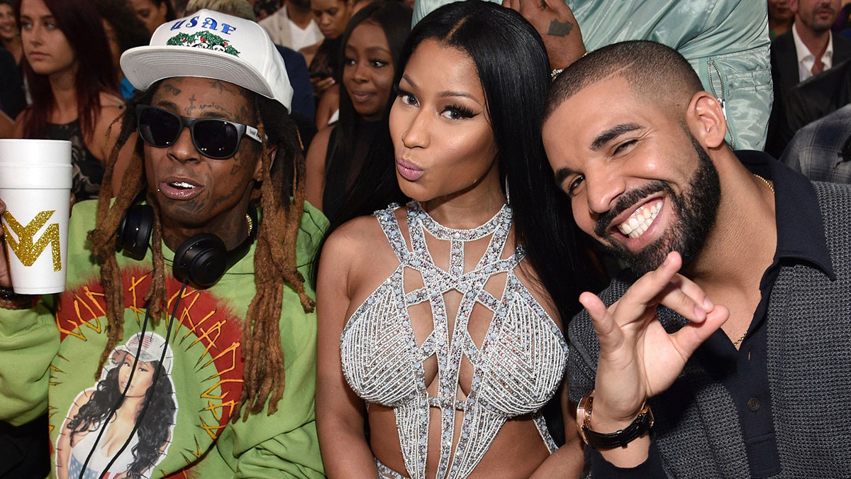 Seeing Green: Nicki Minaj shares new song featuring Drake & Lil Wayne on Beam Me Up Scotty re-release