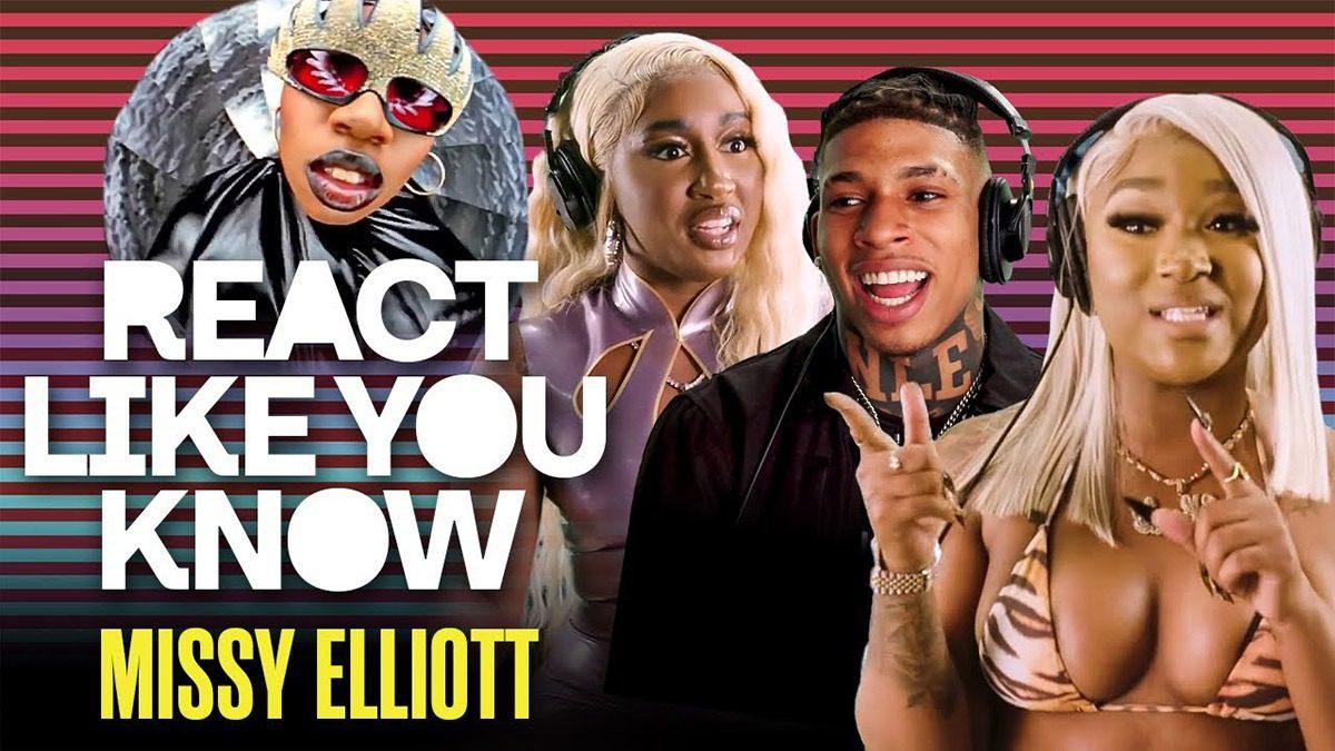 "Yung Baby Tate, NLE Choppa & more react to Missy Elliott's classic video ""The Rain (Supa Dupa Fly)"""