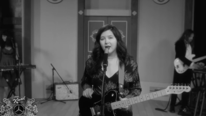 """Lucy Dacus Performs """"Brando"""" on Jimmy Kimmel Live!"""