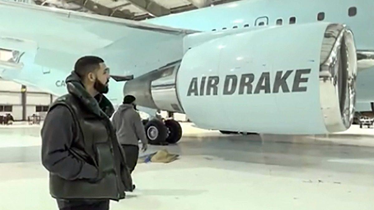 Air Drake: A sneak peek into Drake's $185 million dollar private jet