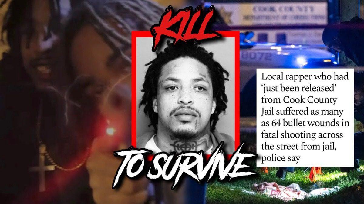 Chicago rapper KTS Dre shot 64 times shortly after bonding out of jail