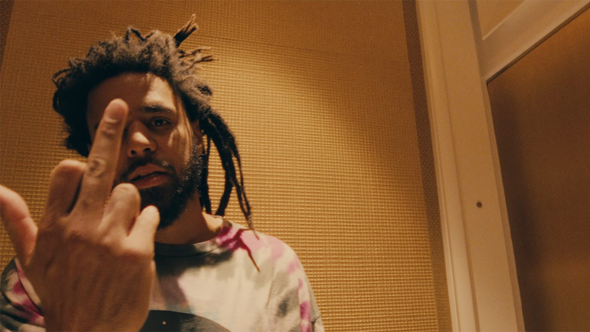 """J. Cole heads to the Vegas Strip for the """"Heaven's EP"""" video"""